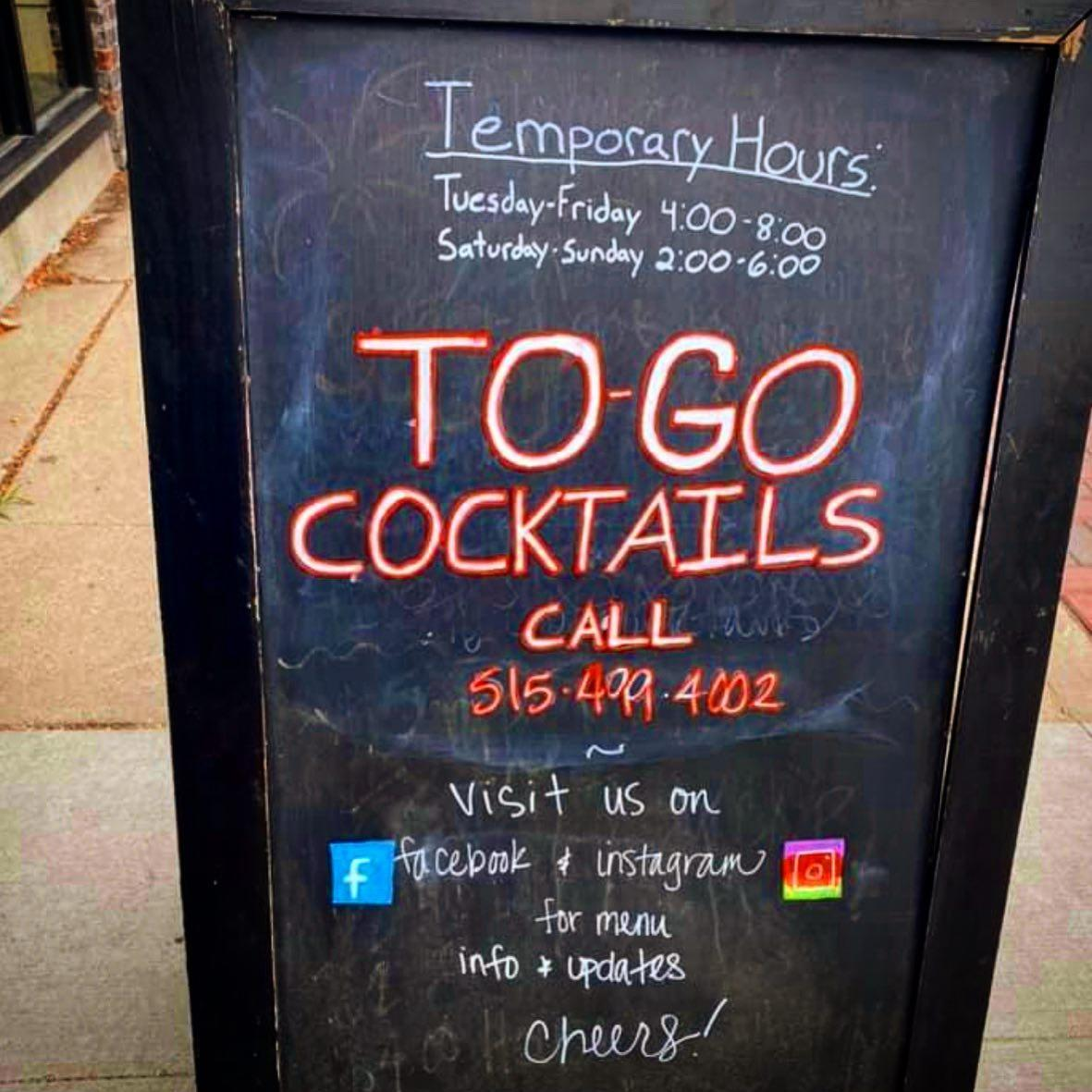 To-Go Cocktails